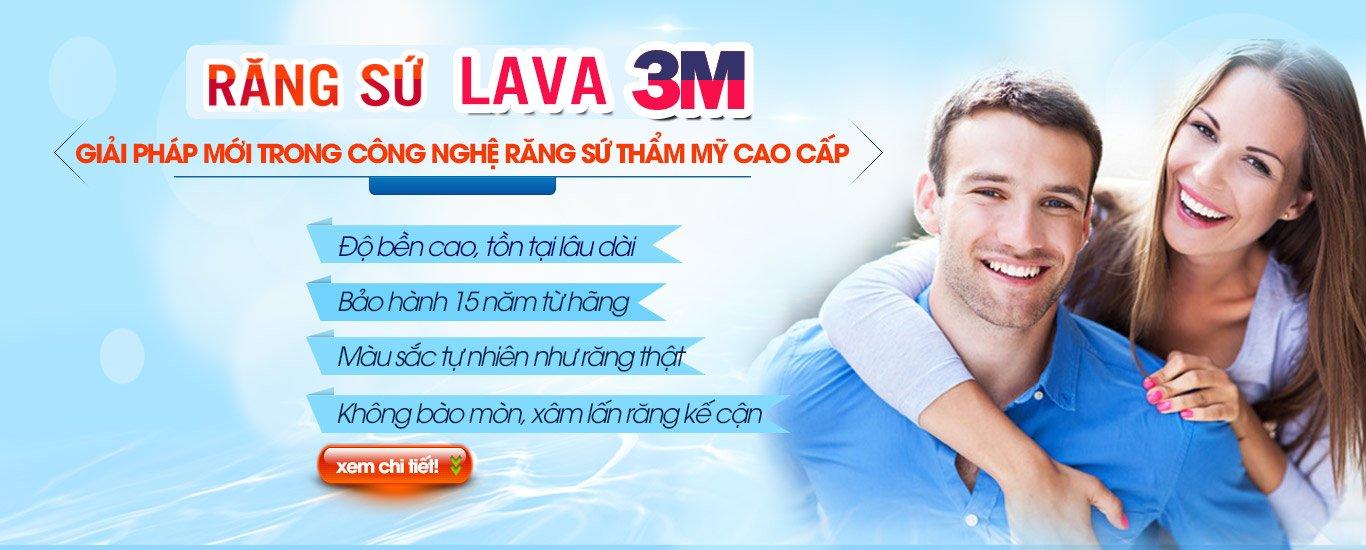 Ưu điểm răng sứ Lava 3M