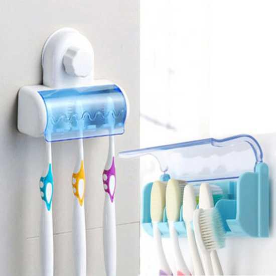 Dùng dụng cụ bảo vệ bàn chải để ngăn vi khuẩn phát triển