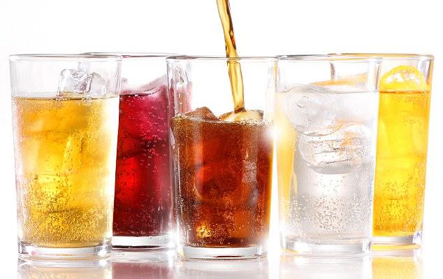 Nước ngọt có ga là một trong những nguyên nhân khiến răng bị mòn dẫn đến tình trạng răng nhạy cảm