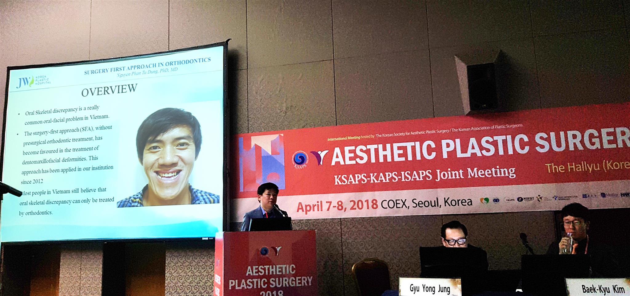 Báo cáo hàm mặt của TS.BS Nguyễn Phan Tú Dung được giới chuyên môn đánh giá cao