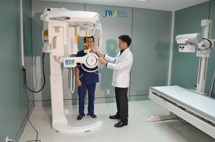 Máy chụp CT 3D hiện đại được sử dụng tại JW