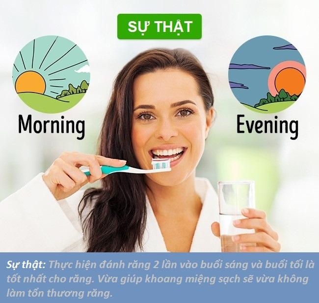 Không phải cứ đánh răng liên tục là việc làm đúng đắn