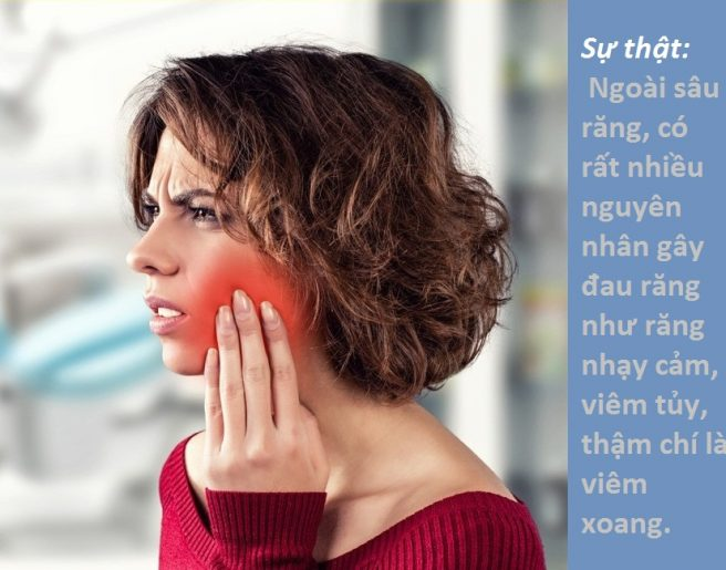 Cứ đau răng có nghĩa là bị sâu răng