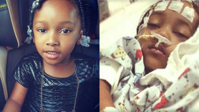 Bé Nevaeh nhập viện trong tình trạng nguy kịch sau 4 tiếng bị nha sỹ giữ lại tại phòng khám tư