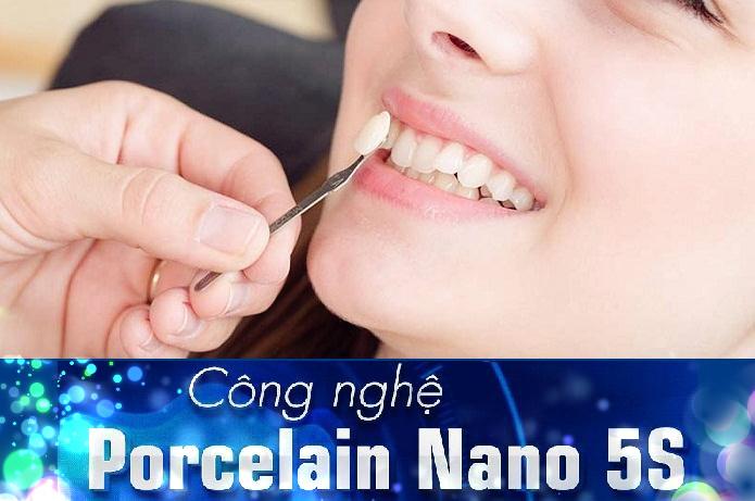 Công nghệ bọc sứ Porcelani Nano 5S độc quyền tại Nha khoa JW