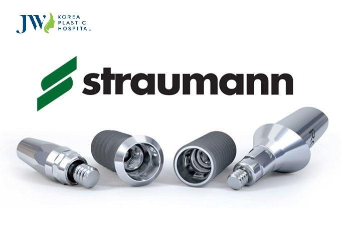 Trụ Implant được sử dụng trong công nghệ Pro Arch chính là hệ thống Implant Straumann cao cấp của Thụy Sỹ