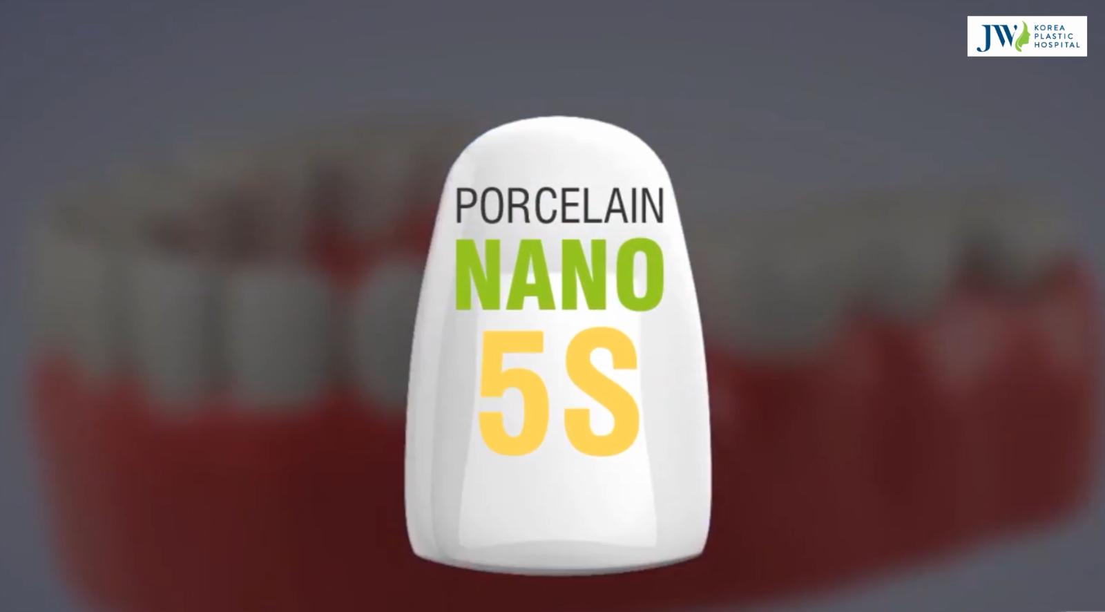 Bọc răng sứ Porcelain nano 5S độc quyền tại JW