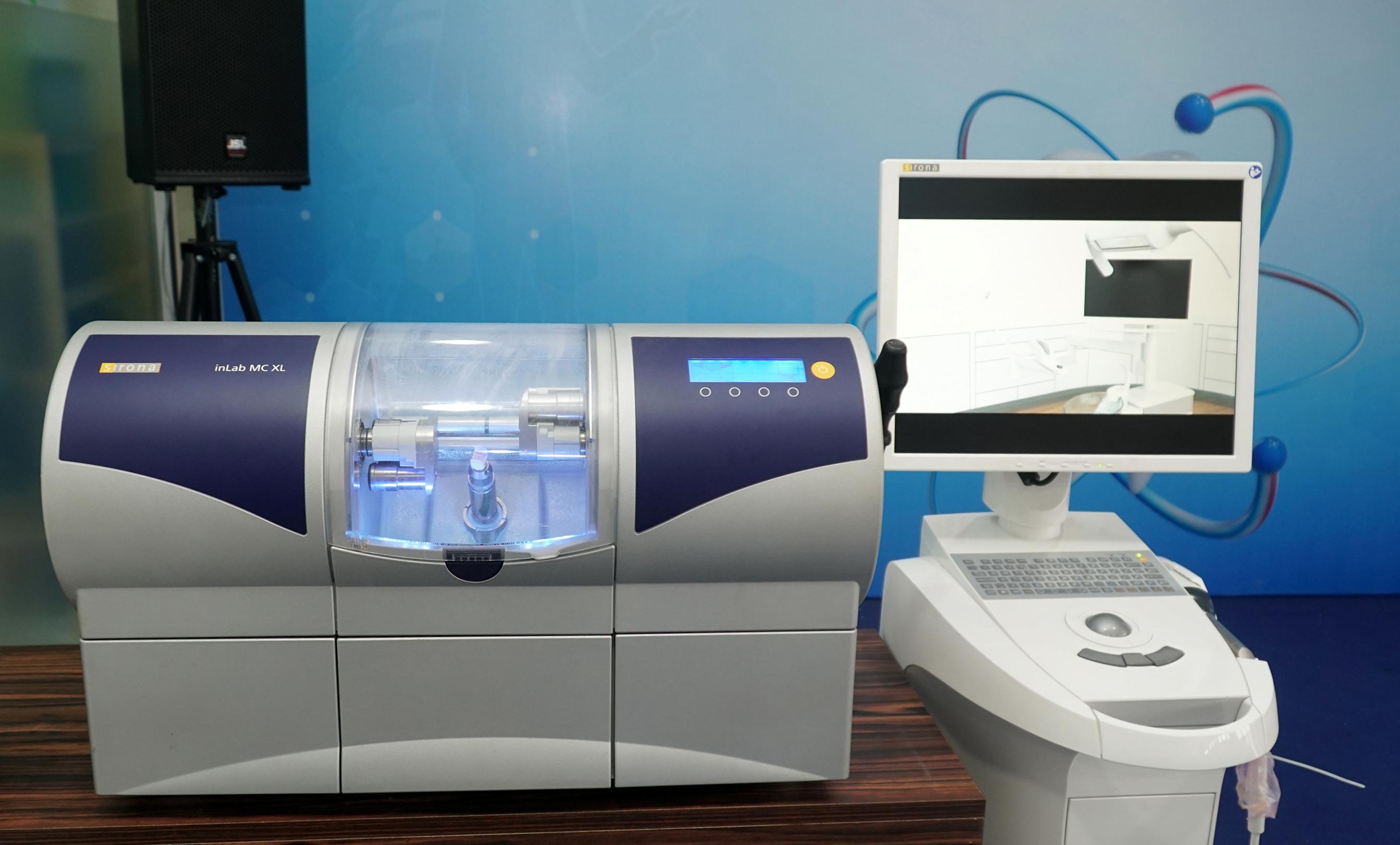 Hệ thống máy Cerec và máy chế tác răng sứ
