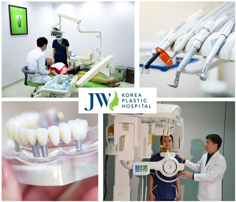 Trang thiết bị hỗ trợ tại JW giúp quá trình trám răng diễn ra an toàn và đạt hiệu quả cao