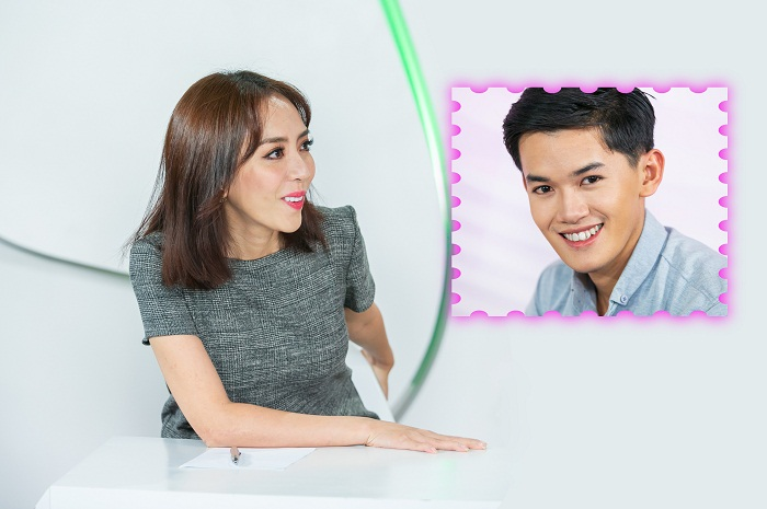 Thu Trang ngỡ ngàng khi tận mắt diện kiến dung mạo chàng soái ca