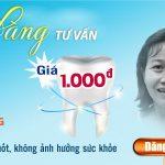 Có 1-0-2: Trải nghiệm bọc răng sứ không mài răng chỉ với 1.000đ