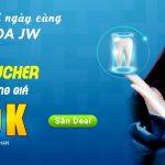 Săn voucher làm đẹp răng giá 249K cùng Nha khoa JW