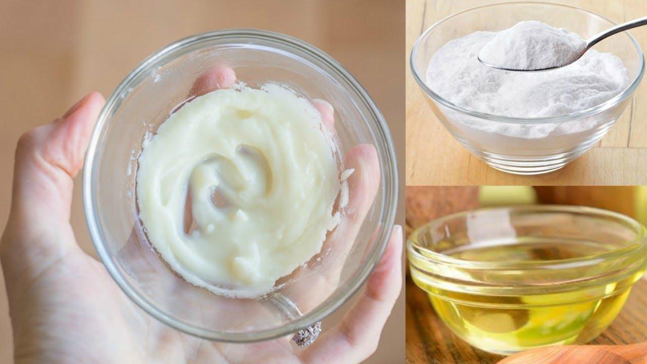 Kết hợp hiệu quả giữa dầu dừa và baking soda