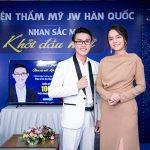 Ca sĩ Phạm Quỳnh Anh bất ngờ trước nhan sắc của Thạc sĩ xem ôm trên sóng truyền hình