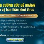 Phải làm gì để tăng cường sức đề kháng phòng chống virus?