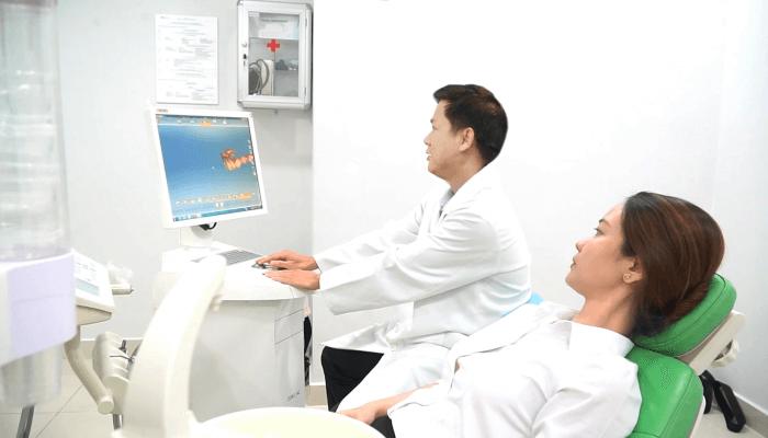 Hệ thống máy quét được ứng dụng tại Khoa Răng hàm mặt - Bệnh viện JW