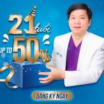 ĐẠI TIỆC SINH NHẬT JW TUỔI 21: Ưu đãi 50% tất cả dịch vụ, hàng nghìn quà tặng cực chất